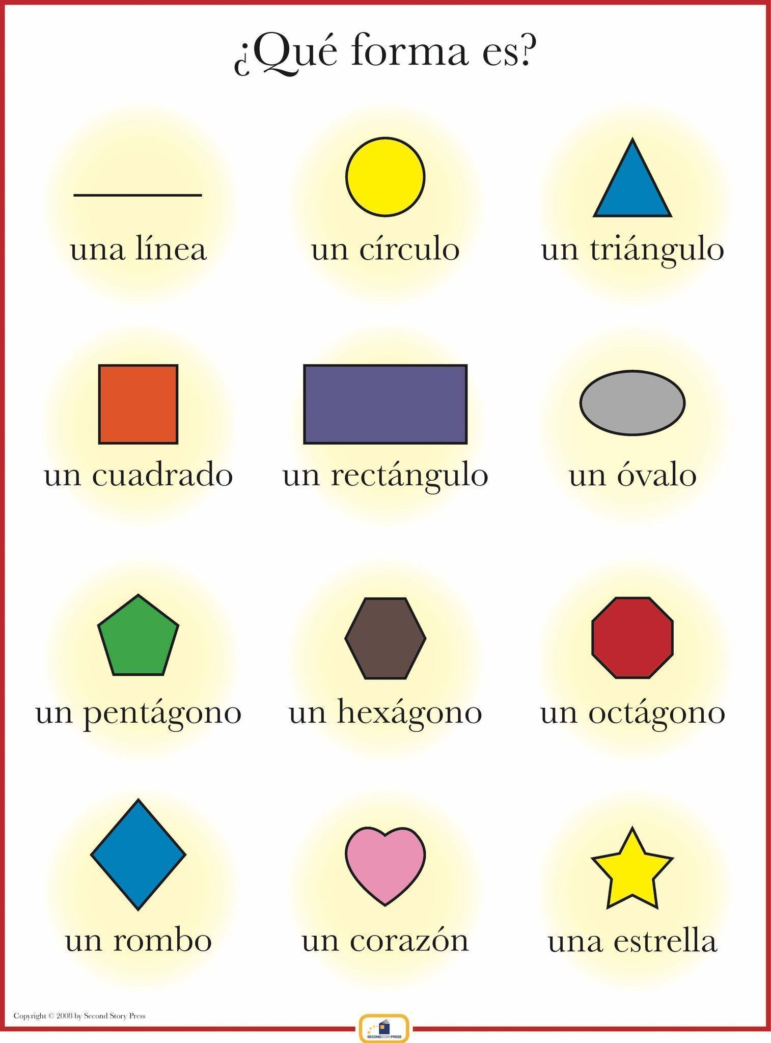 Introduce Shapes With This Colorful 18 X 24 In Poster