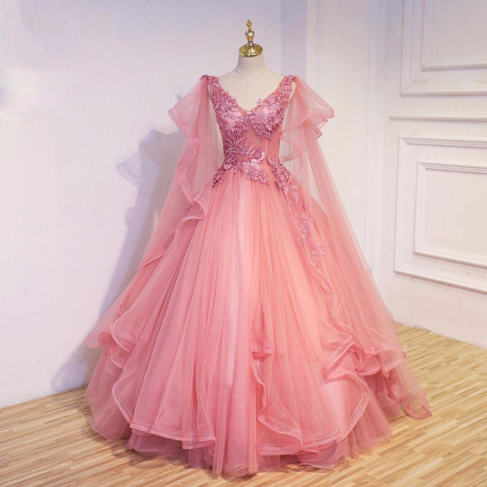Bonito Vestido De Novia China Embellecimiento - Colección de ...