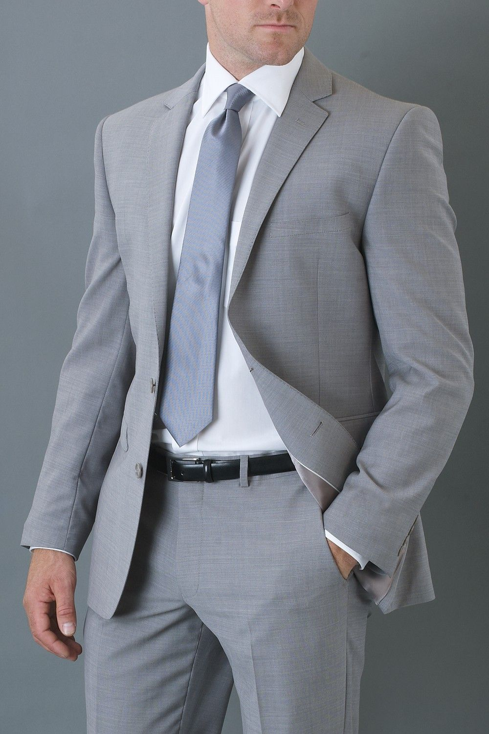 Cerruti Cloth Grey Mohair Look Suit from Moss Bros | ONLY FOR MEN ...