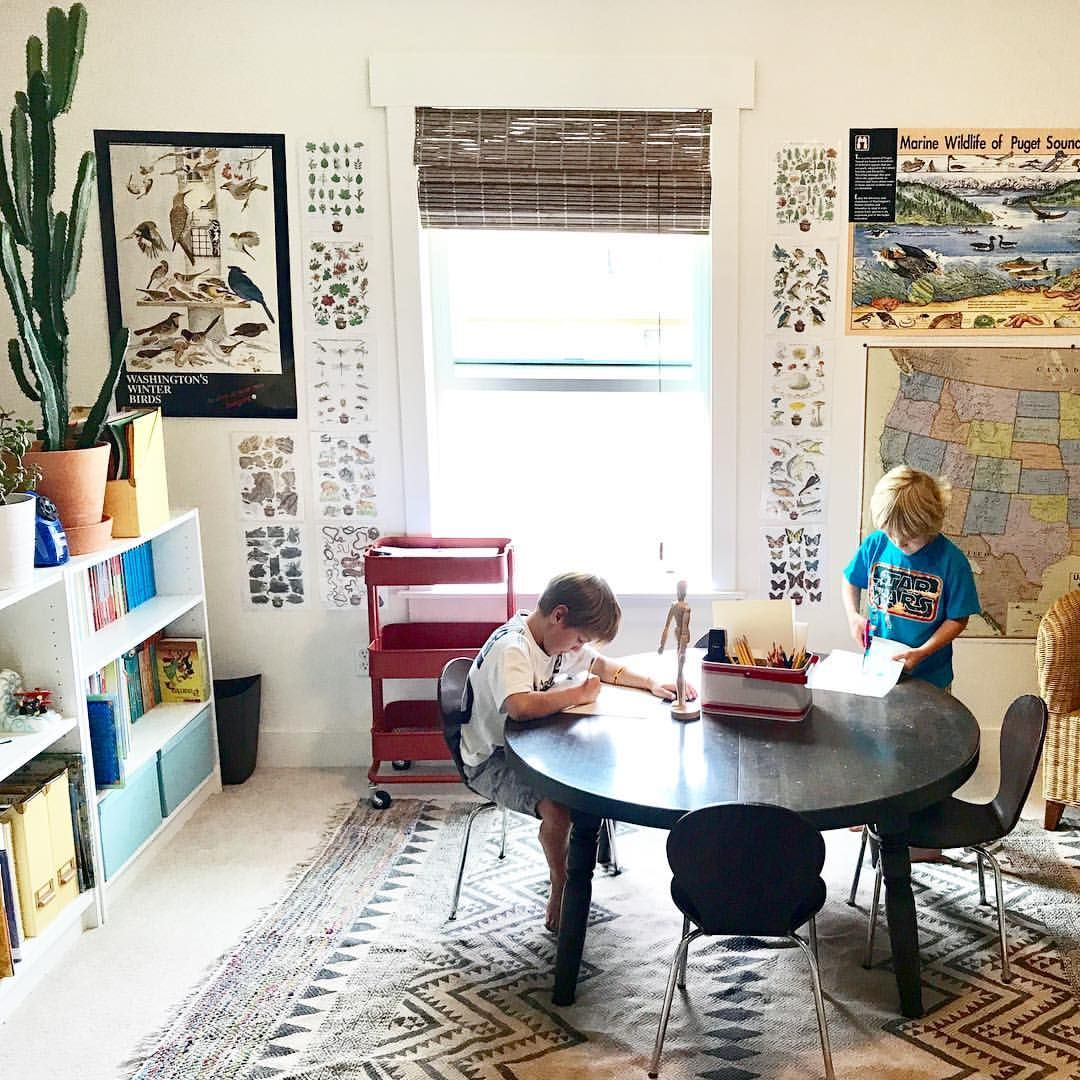 "Play And Study Room: (@hoffman_hill) On Instagram: ""We're Spending More Time In"