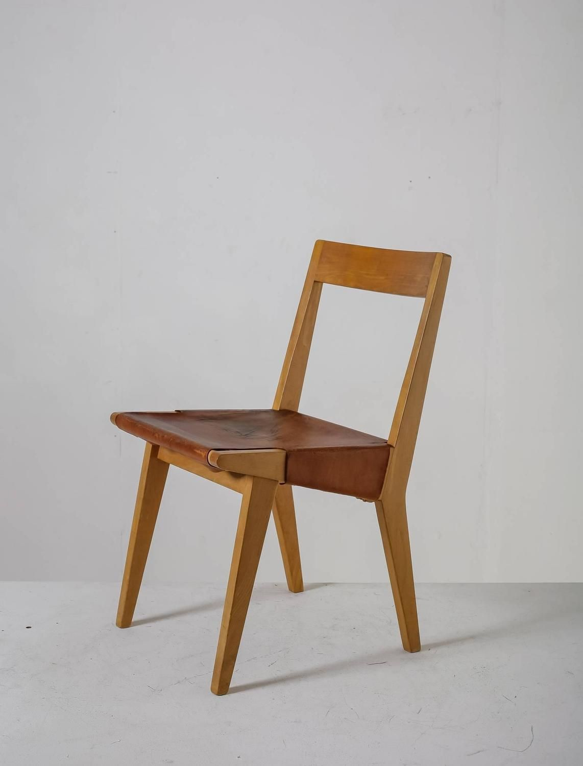 Jens Risom; Series 600 Chair For Knoll Associates, 1940s.