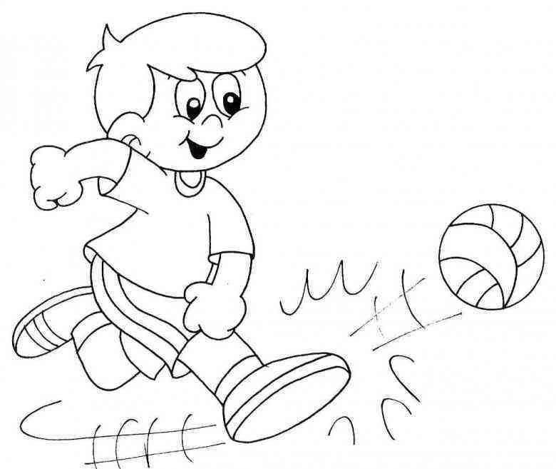 Fussball 34 Ausmalbilder Educacao Fisica Paginas Para Colorir Tecido Infantil
