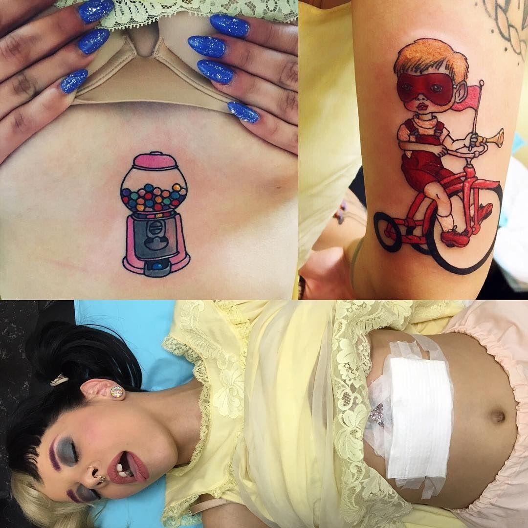 Lauren Winzer On Instagram Did A Little Late Night Surgery On My Girl Littlebodybigheart Melanie Martinez Melanie Mealine Martinez