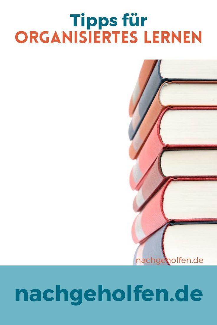 Mit diesen Tipps kannst du gut organisiert lernen – nachgeholfen.de