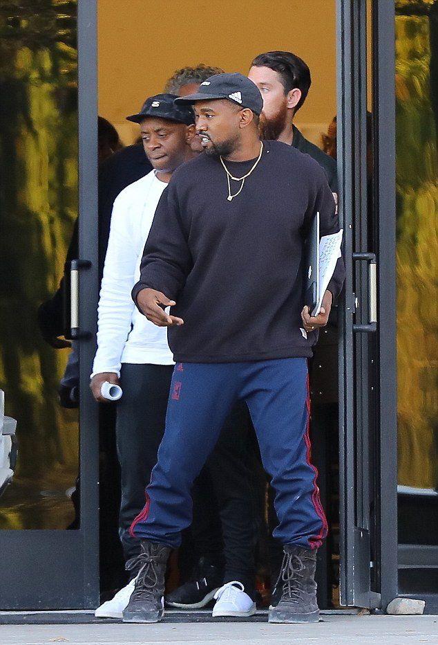 Kanye West Carhartt Sweatshirts Crepe Boots Kanye West
