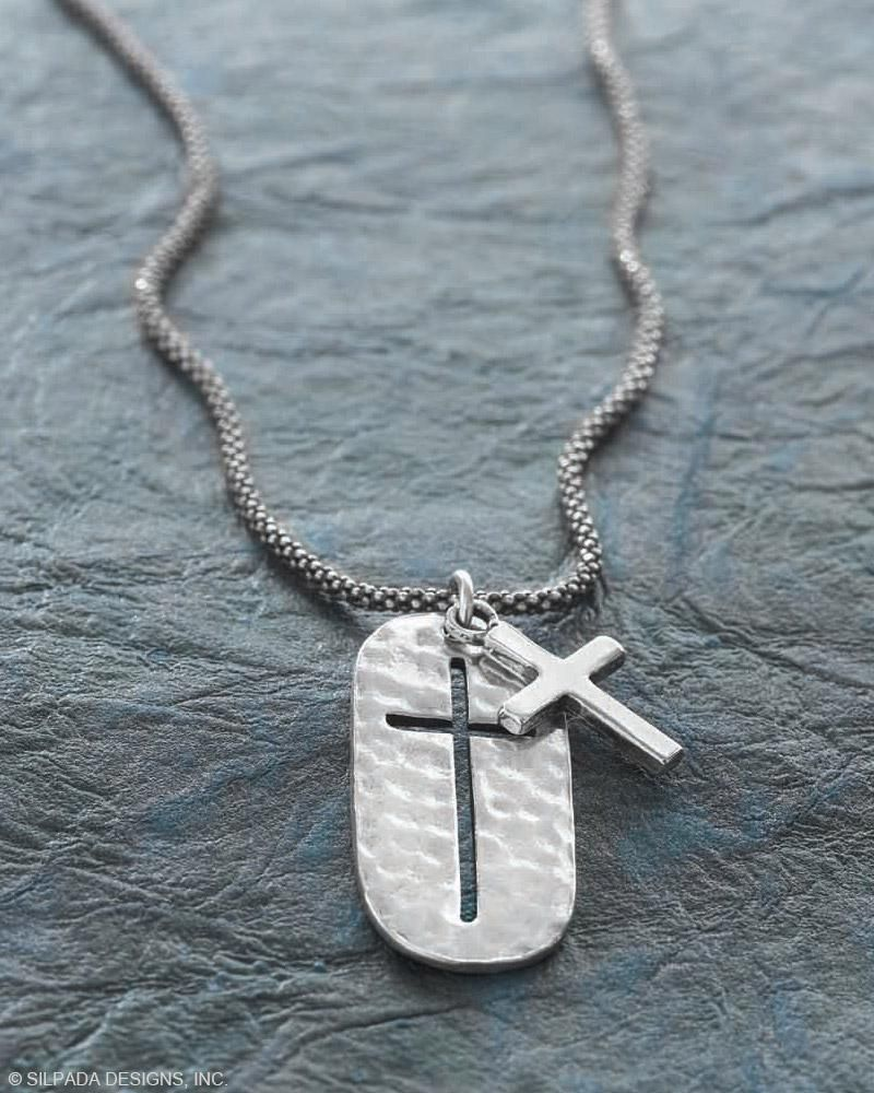 Symbol Of Strength Cross Necklace Jewelry By Silpada Designs
