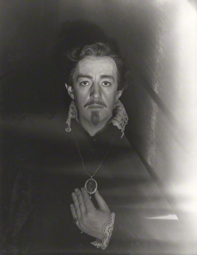 Sir Alec Guinness as Hamlet  by Cecil Beaton 1951