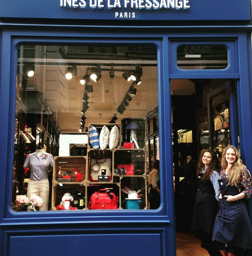 Ines de la Fressange shop in Paris/ Facebook | paris | Pinterest ...
