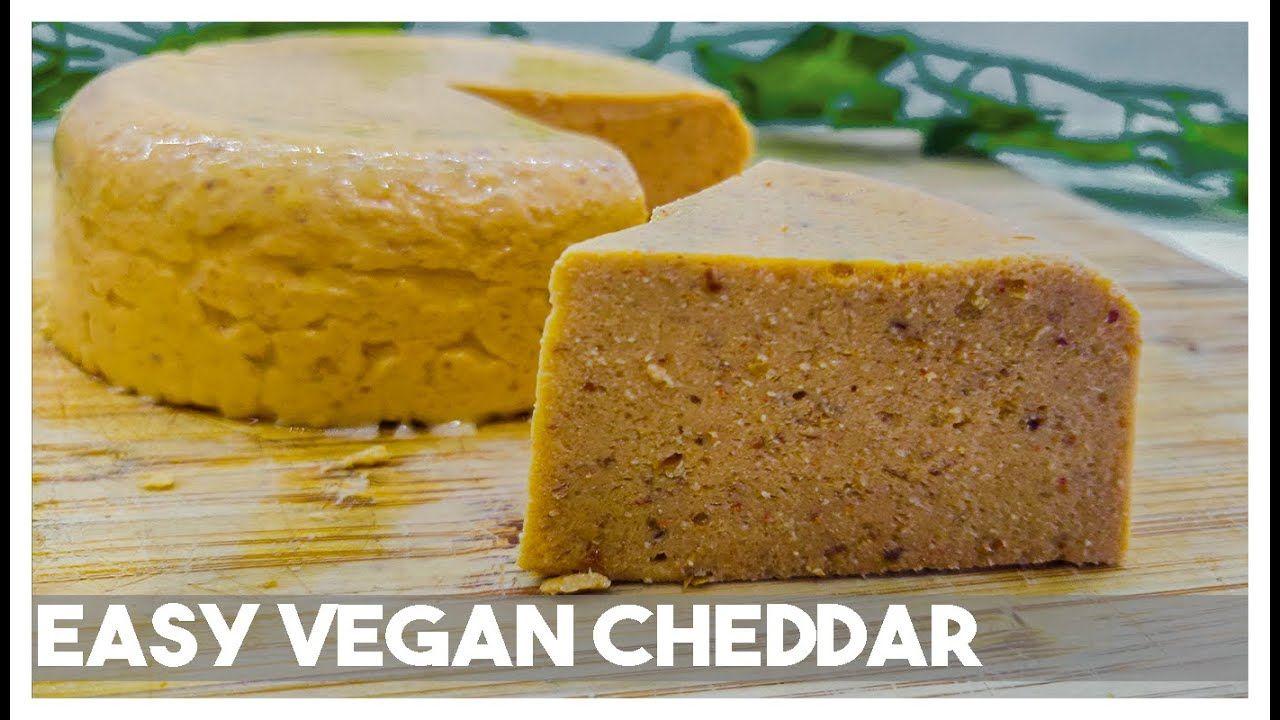 Easy Vegan Smoked Cheddar Cheese Shreddable Meltable Dairy Free In 2020 Easy Vegan Dairy Free Dairy Free Recipes