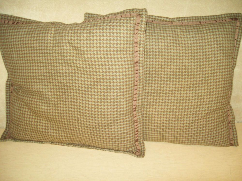 Lot Of 40Houndstooth40% CottonChapsHome DecorThrowPillows400 Beauteous Chaps Decorative Pillows