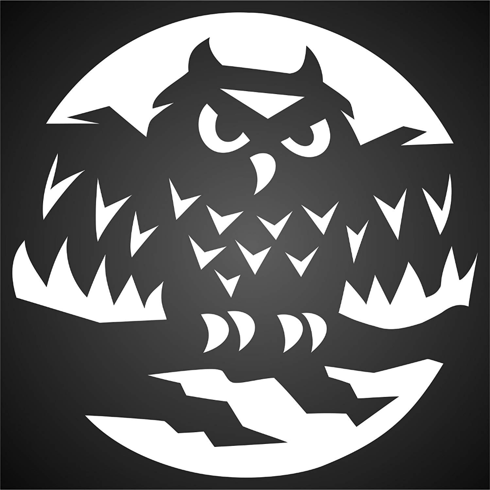 Amazon.com: Halloween Owl Stencil