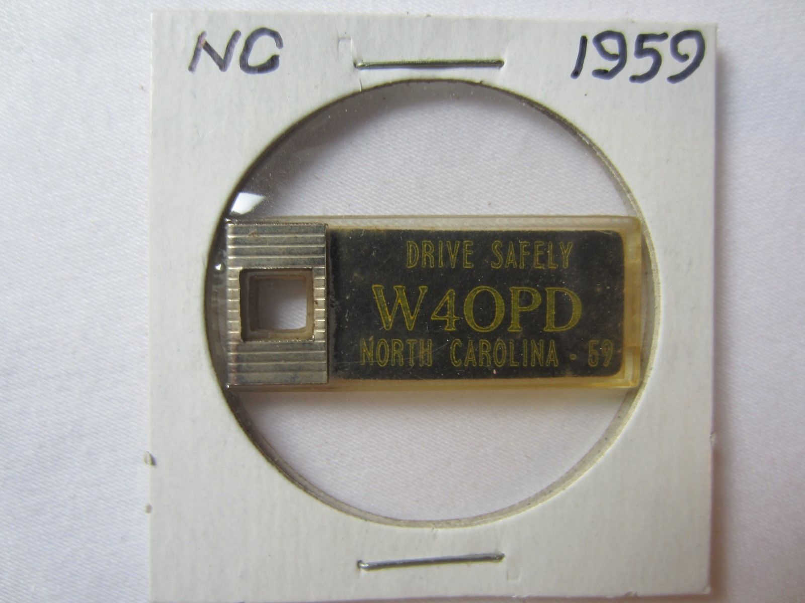 1959 North Carolina Special Order Ham Radio Disabled