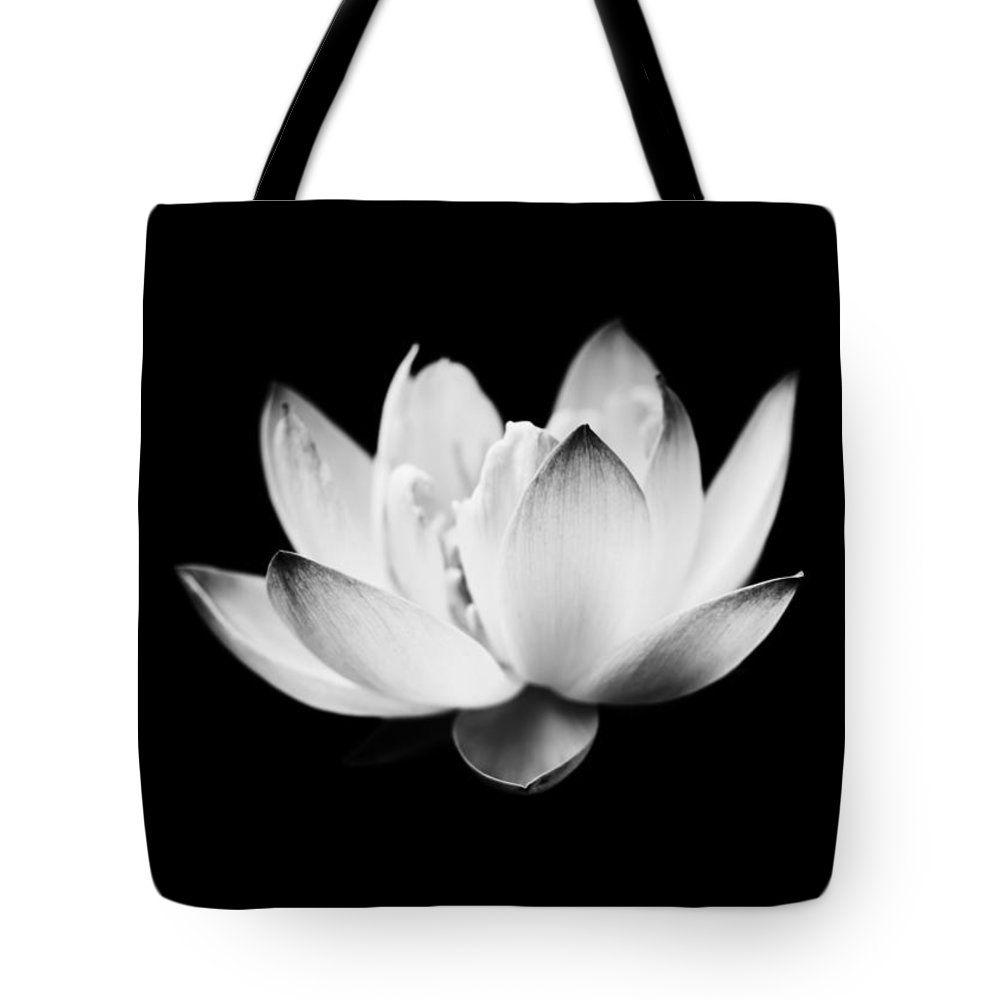 """Ghost Lotus Tote Bag 18"""" x 18"""""""