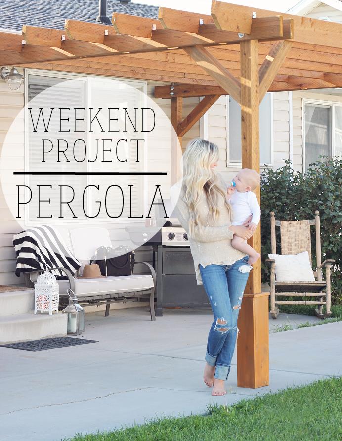 A MAMA IN LOVE: Backyard Pergola | Building a Future