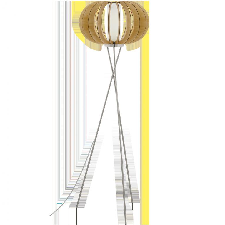 Vloerlamp Eglo Stellato 1 95604 | Vloerlamp, Houten lamp, Lampen