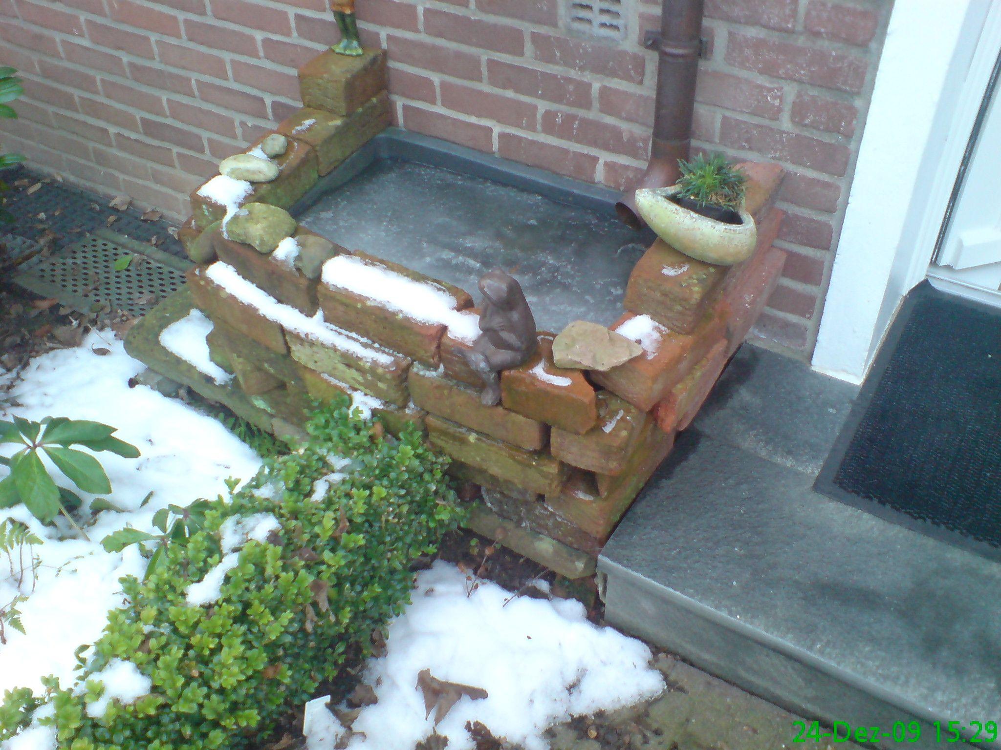 Wassertrog Verstecken Bauanleitung Zum Selber Bauen Garten