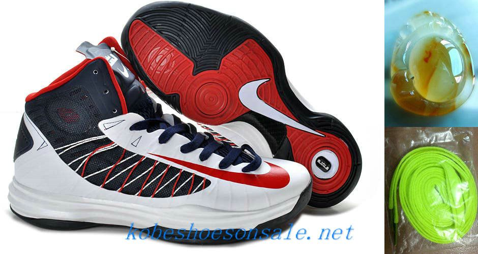 los angeles 0d929 83cd4 Pas Cher Femmes Nike Zoom Lunar Hyperdunk 2012 USA Home Olympic 535359 102  Lebron James Chaussures for Hommes