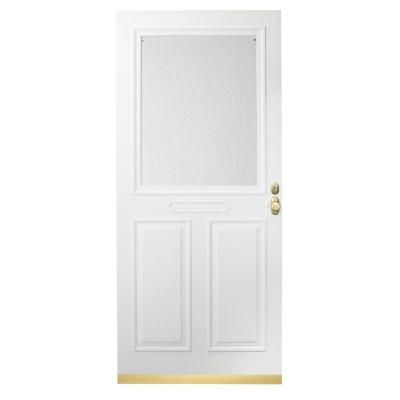 Charming EMCO Forever 36 In. White Store In Door Traditional Storm Door HDPTR36WH
