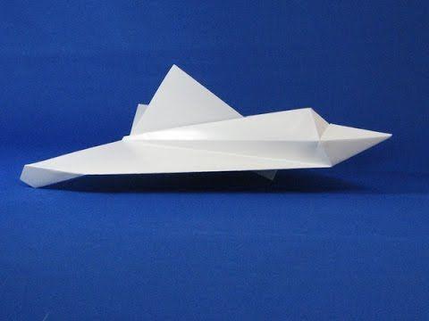 صنع طائرة مقاتلة من الورق دليل محمد الشمري Airplane Design Paper Airplanes Design