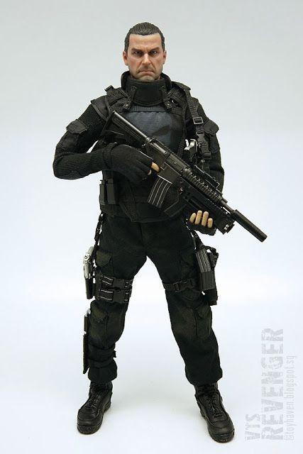"VTS Toys 1/6 scale The Revenger 12"" figure aka Ray ..."