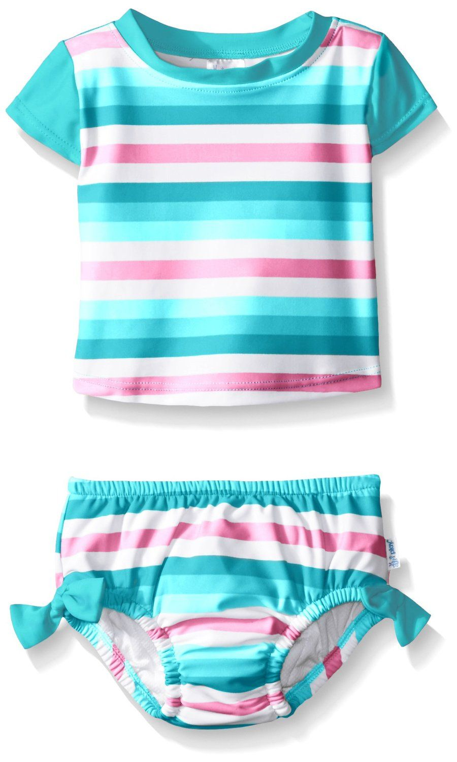 46575dde2f13b i play. Baby and Toddler Girls' Swimsuit Set with Built-In Absorbent Swim  Diaper ** Special product just for you. See it now! : Baby clothes