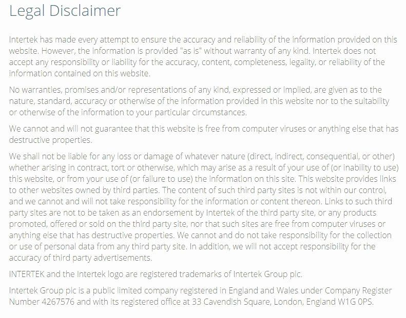 Artist Terms Of Service Template Lovely Sample Disclaimer