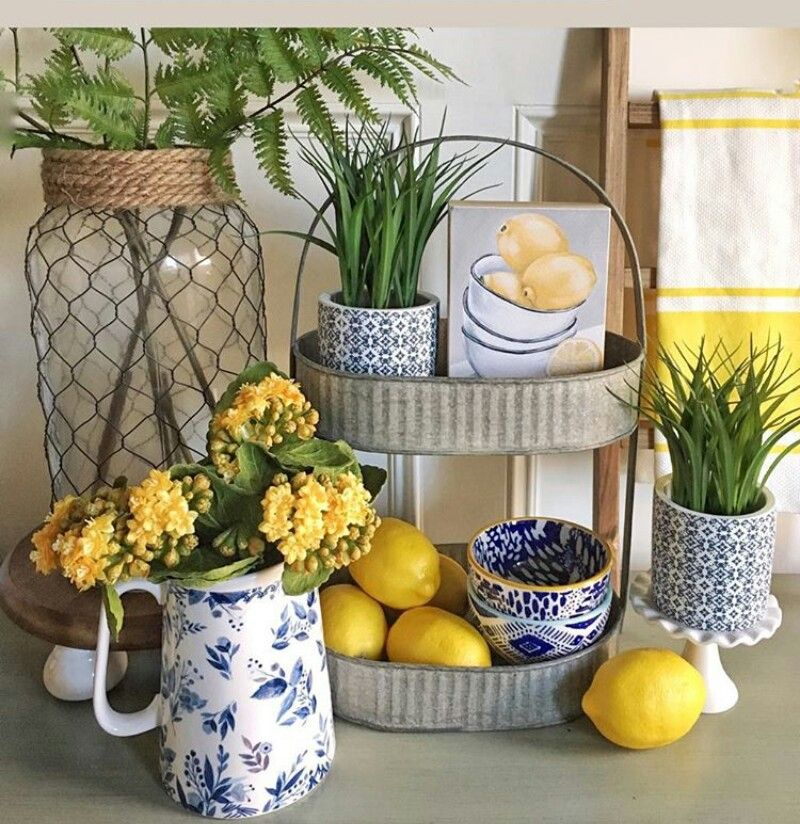 Pale Yellow Country Kitchen: Pin By Maricela Quintero On Home In 2019