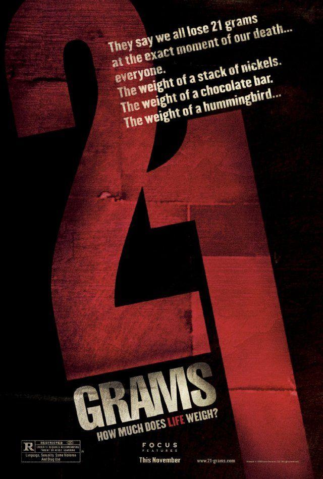 21 Grams Alejandro Gonzalez Inarritu Film Watch Movie Posters