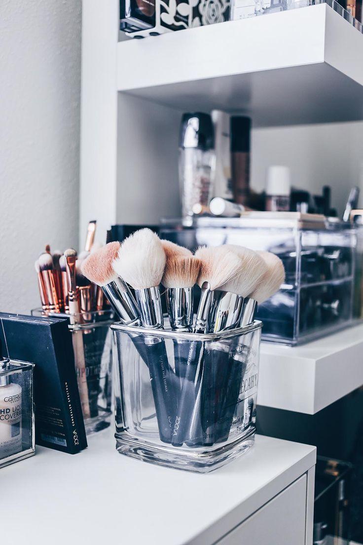 Photo of Mitt nye sminkehjørne inkludert praktisk kosmetisk lagring! – http://embassy-toptrendspint.blackjumpsuitoutfit.tk