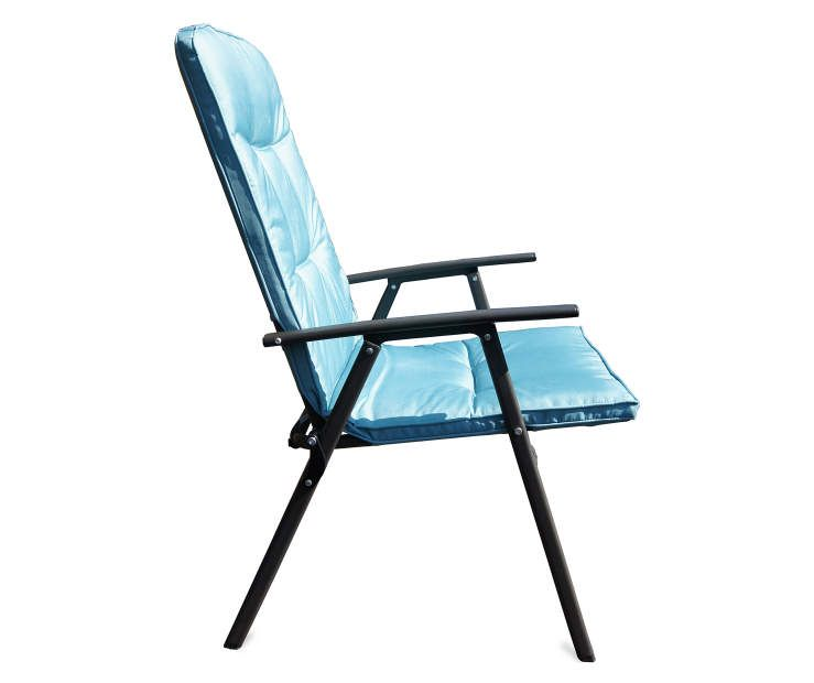 Blue Oversized Padded Outdoor Folding Chair Big Lots – Folding Padded Lawn Chairs