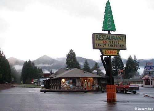 Pictures Of Detroit Lake Oregon Cedars Restaurant