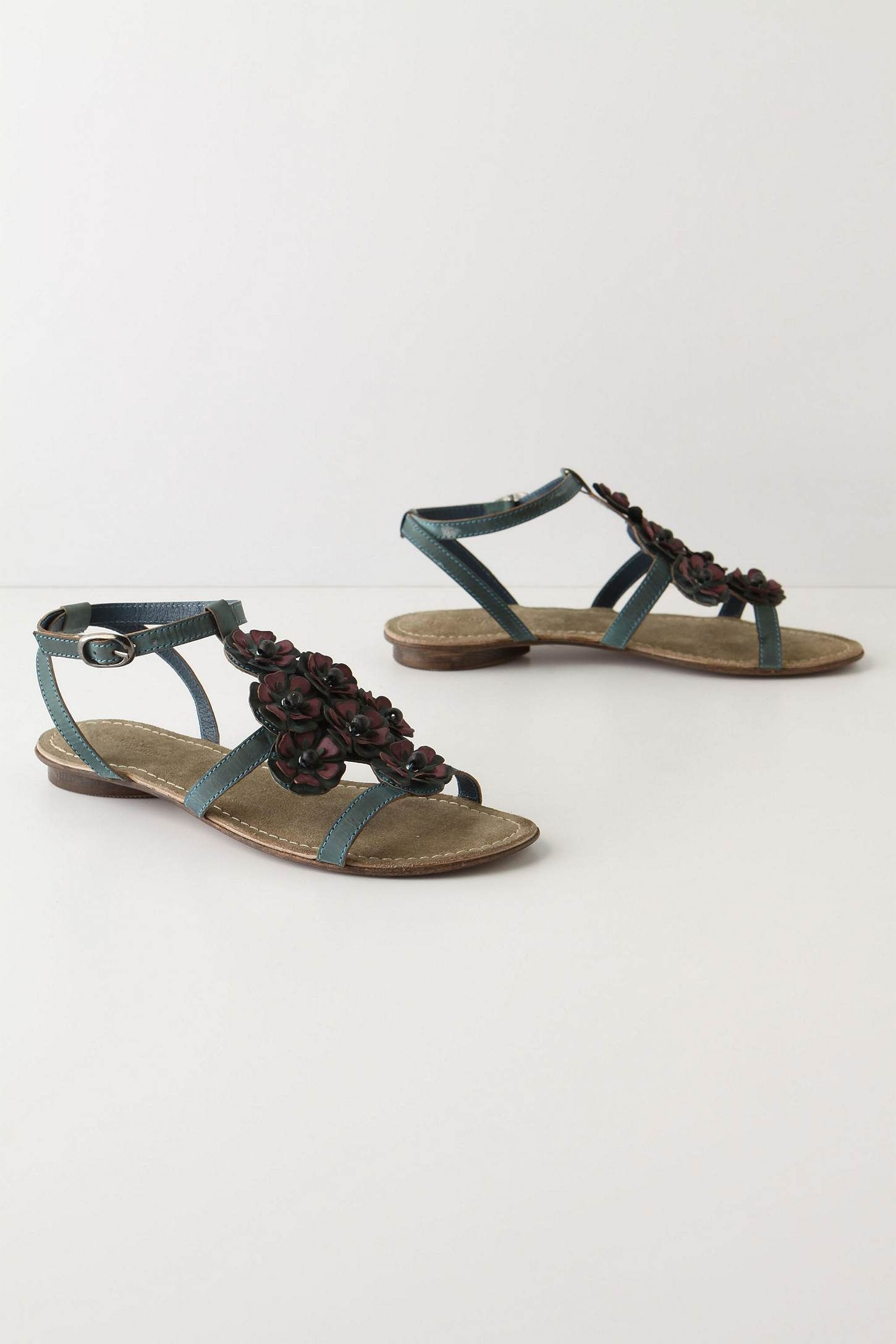 4e488dc6e3ca56 Eclipsed Alyssum Sandals - Anthro