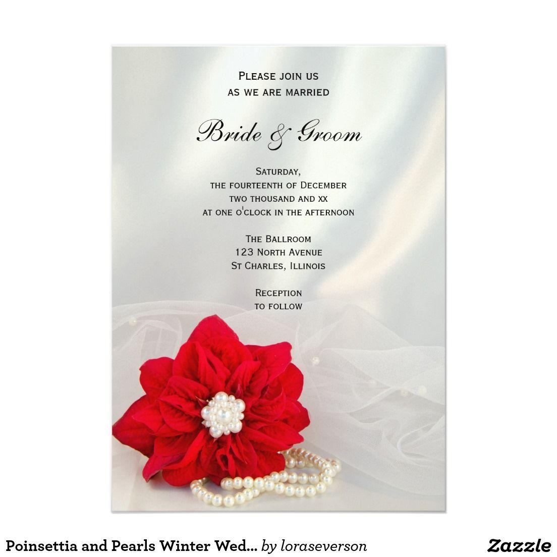 Colorful Winter Wedding Invites Illustration - Invitations and ...