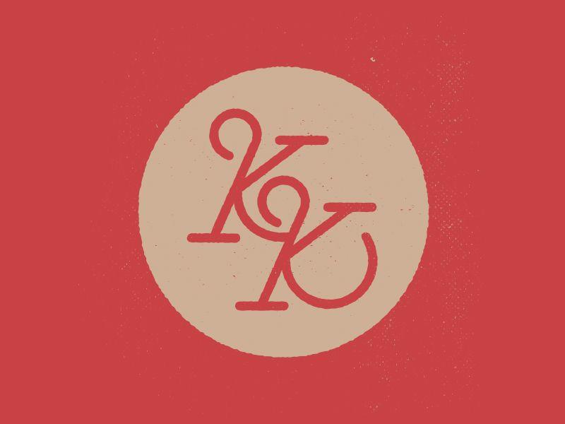 KK logo | Raview | Logos, Personal logo, Logo design
