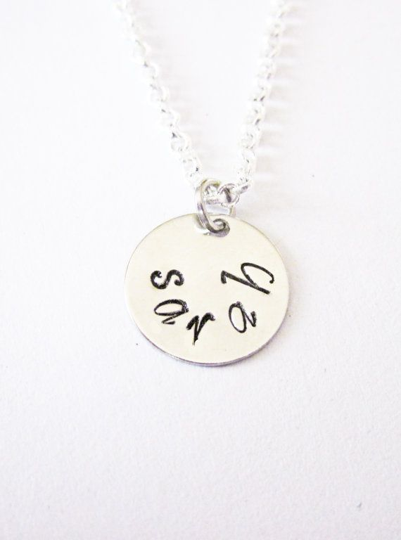Name Necklace personalized necklace by RobertaValle on Etsy