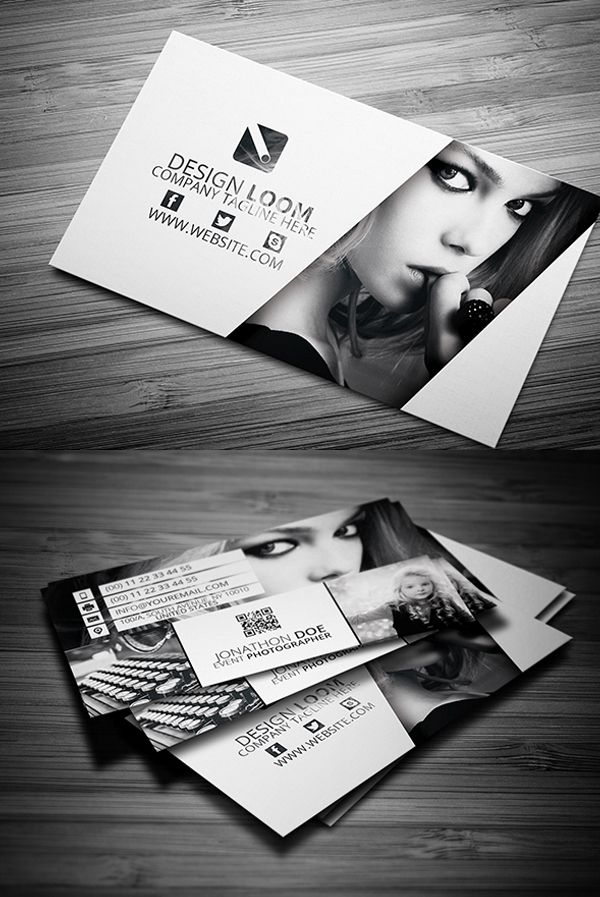 Business Cards Design: 25 Creative Examples - 1 | Дизайн, Визитки ...