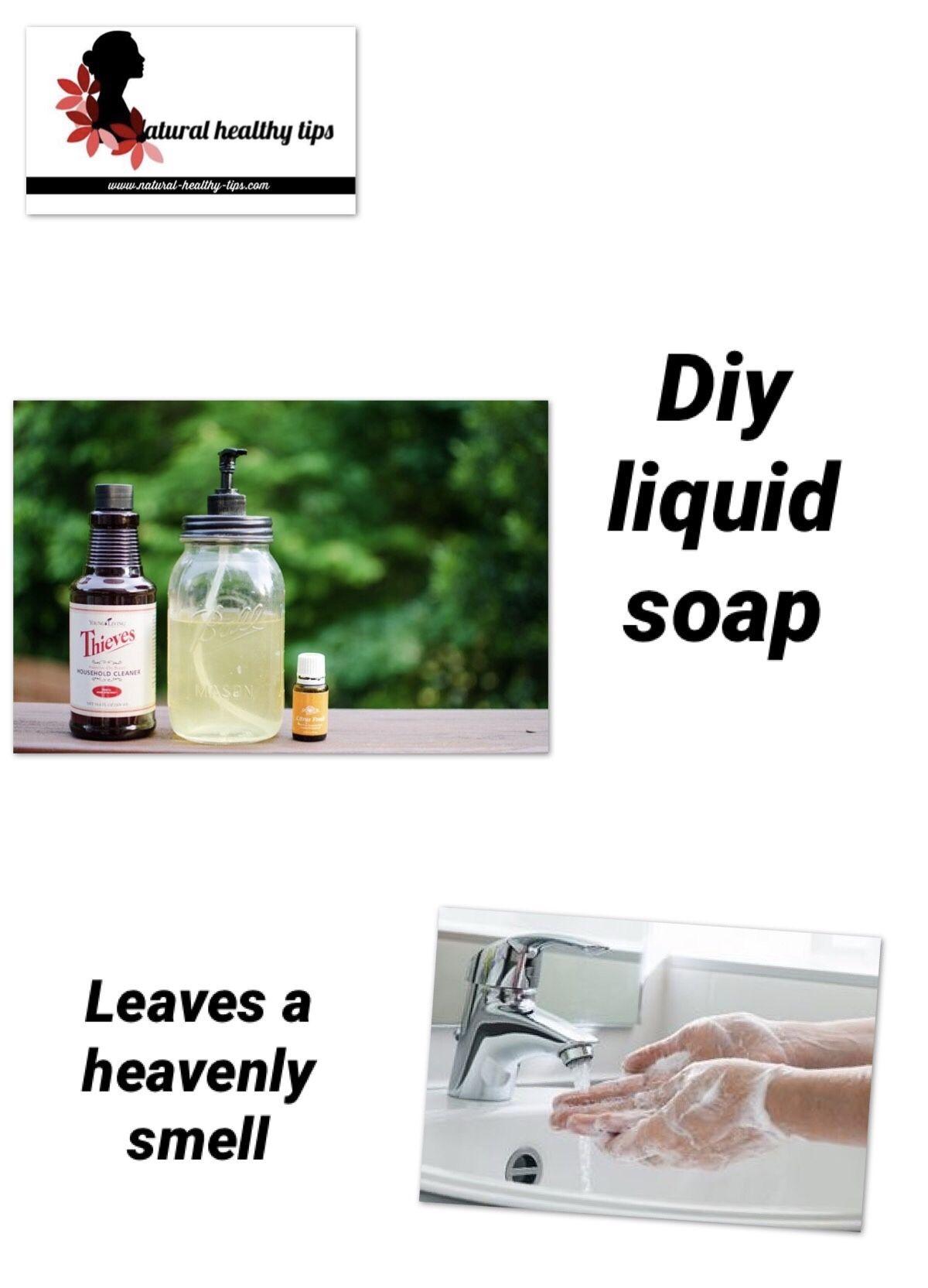 How to make homemade liquid dish soap Skin natural