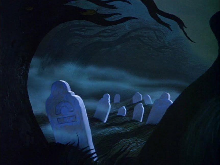 Graveyard In Sleepy Hollow Sleepy Hollow Disney Legend Of Sleepy Hollow Animation Background