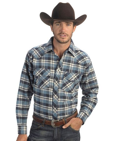 616b49735 Exclusive Gibson Trading Co. Blue Plaid Flannel Shirt