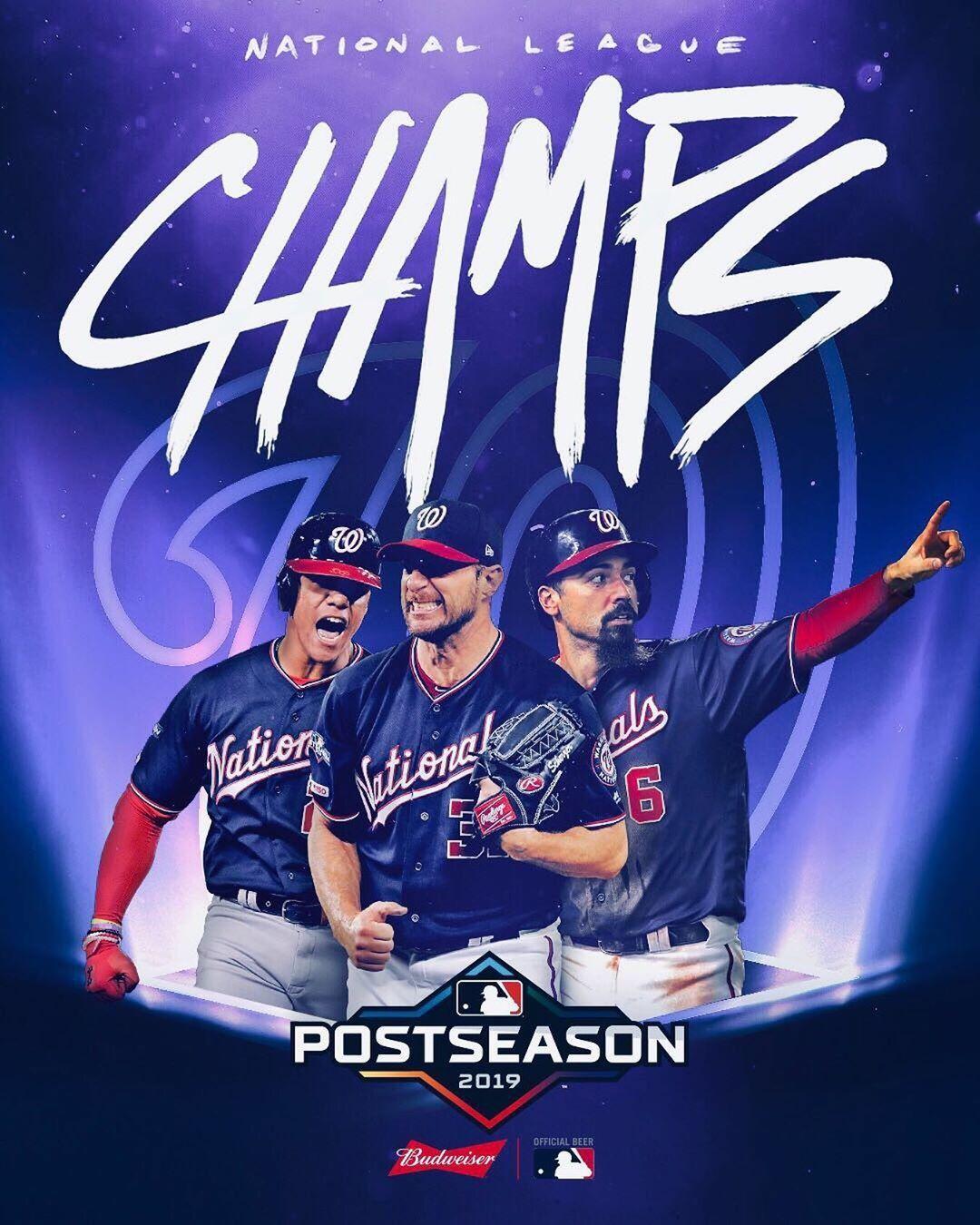 Mlb On Instagram That S A Sweep Doo Doo Doo Doo Doo Doo Clinched Washington Nationals Baseball Memes National Champions