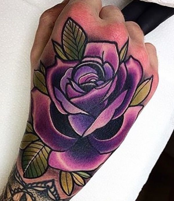 50 Flower Tattoos For Men A Bloom Of Manly Design Ideas Hand