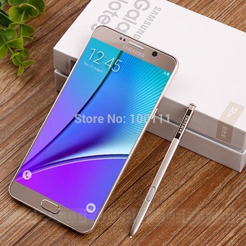 Original Samsung Galaxy Note 5 N920A mobile phone 4GB RAM