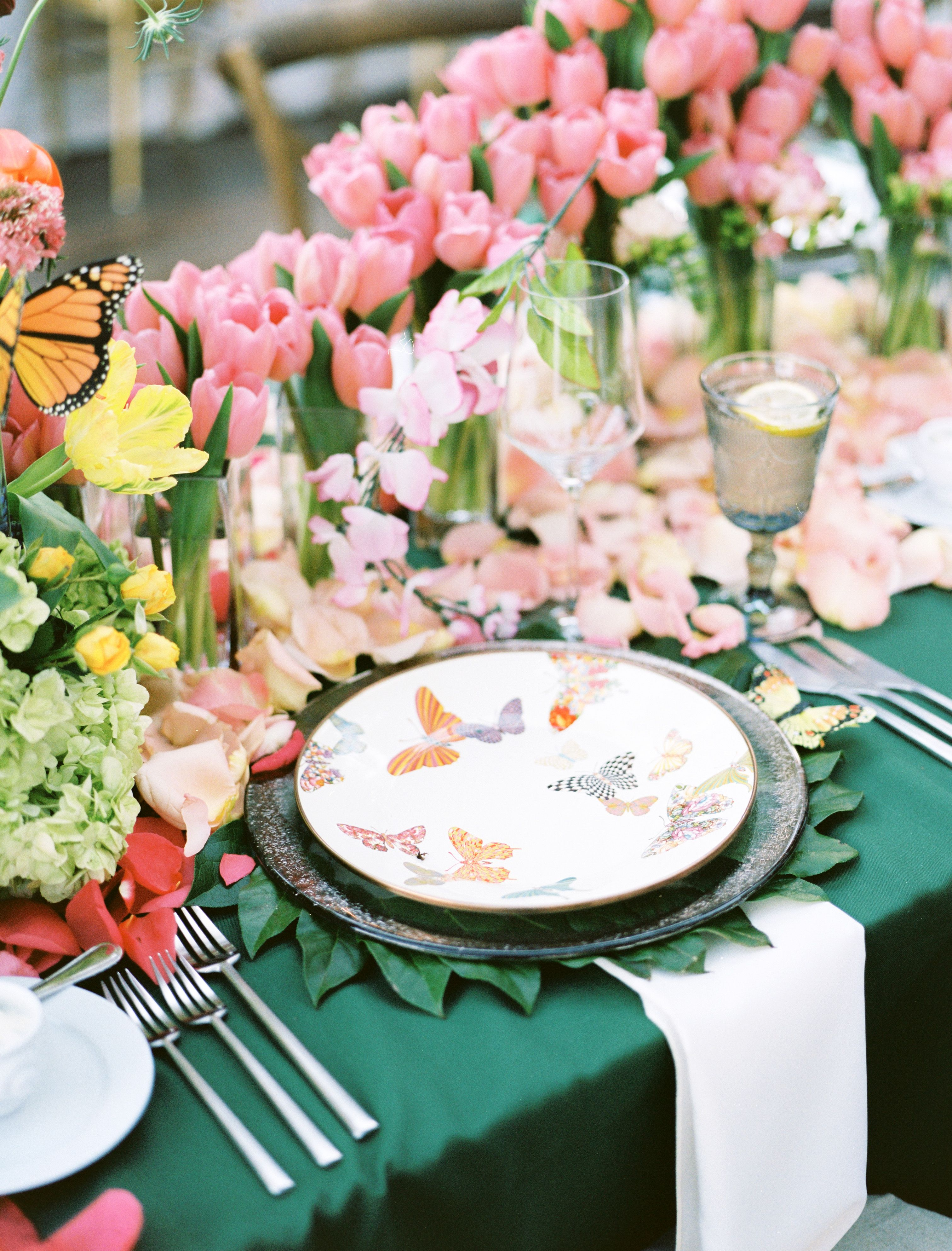 Table By The Garden Gate Dallas May Day Southern Soiree At