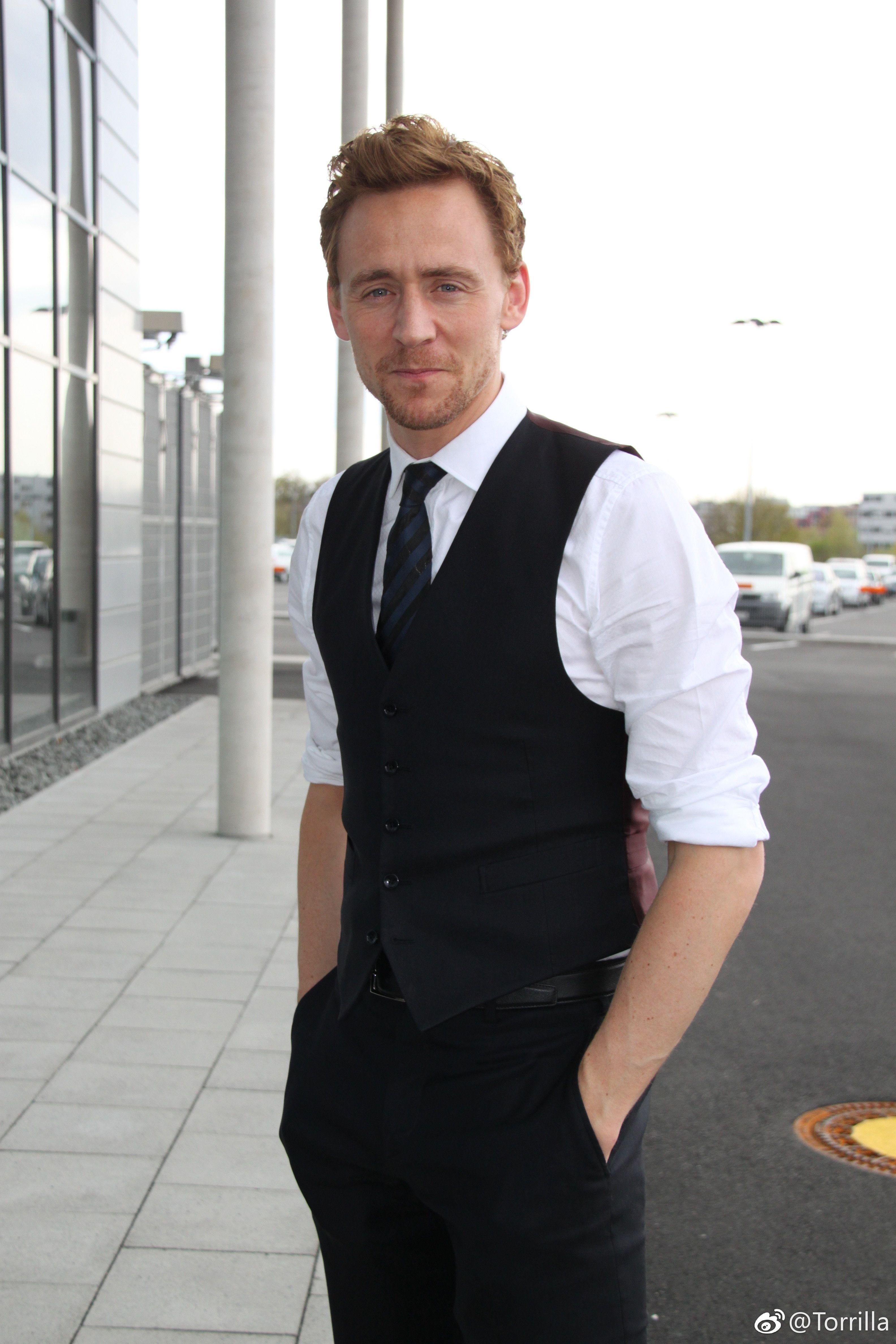 58d8d85f11bcf4 Tom Hiddleston.  TheAvengers promo in 2012. Via Torrilla. Thomas William  Hiddleston,