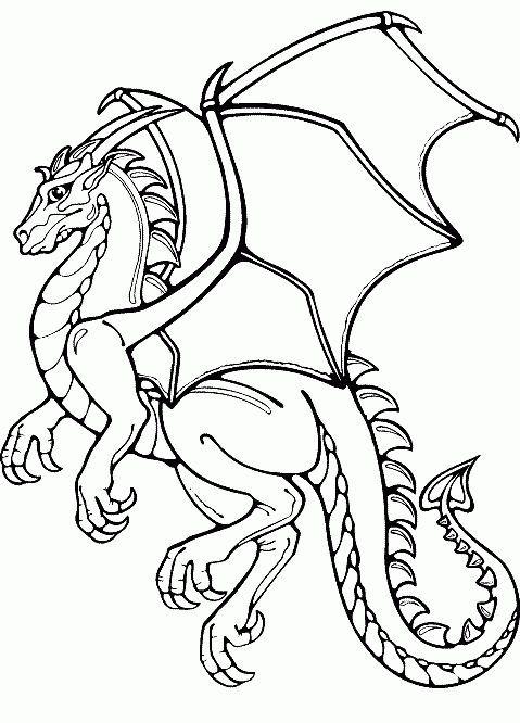 Coloring Page For Kids Coloring Drachen Ausmalbilder Drachen Malen Malbuch Vorlagen