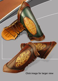 $49.00 Celtic Leather Bracers. If I ever have an extra 50 bucks, I'm going to buy these.