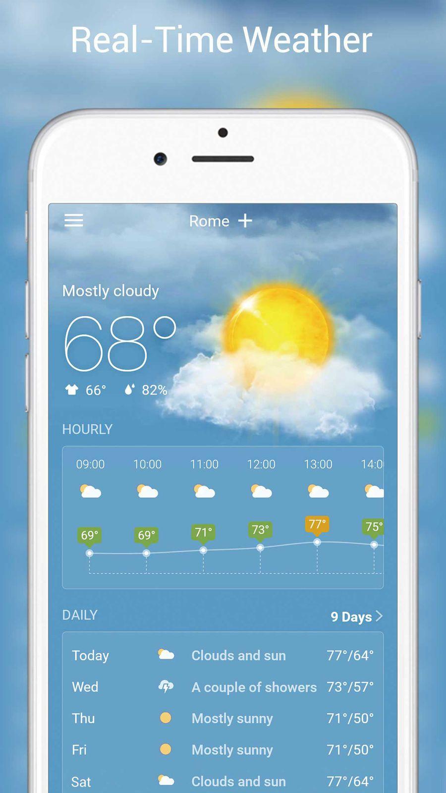 Live Weather - Weather Radar | Game Ios Artworks | App