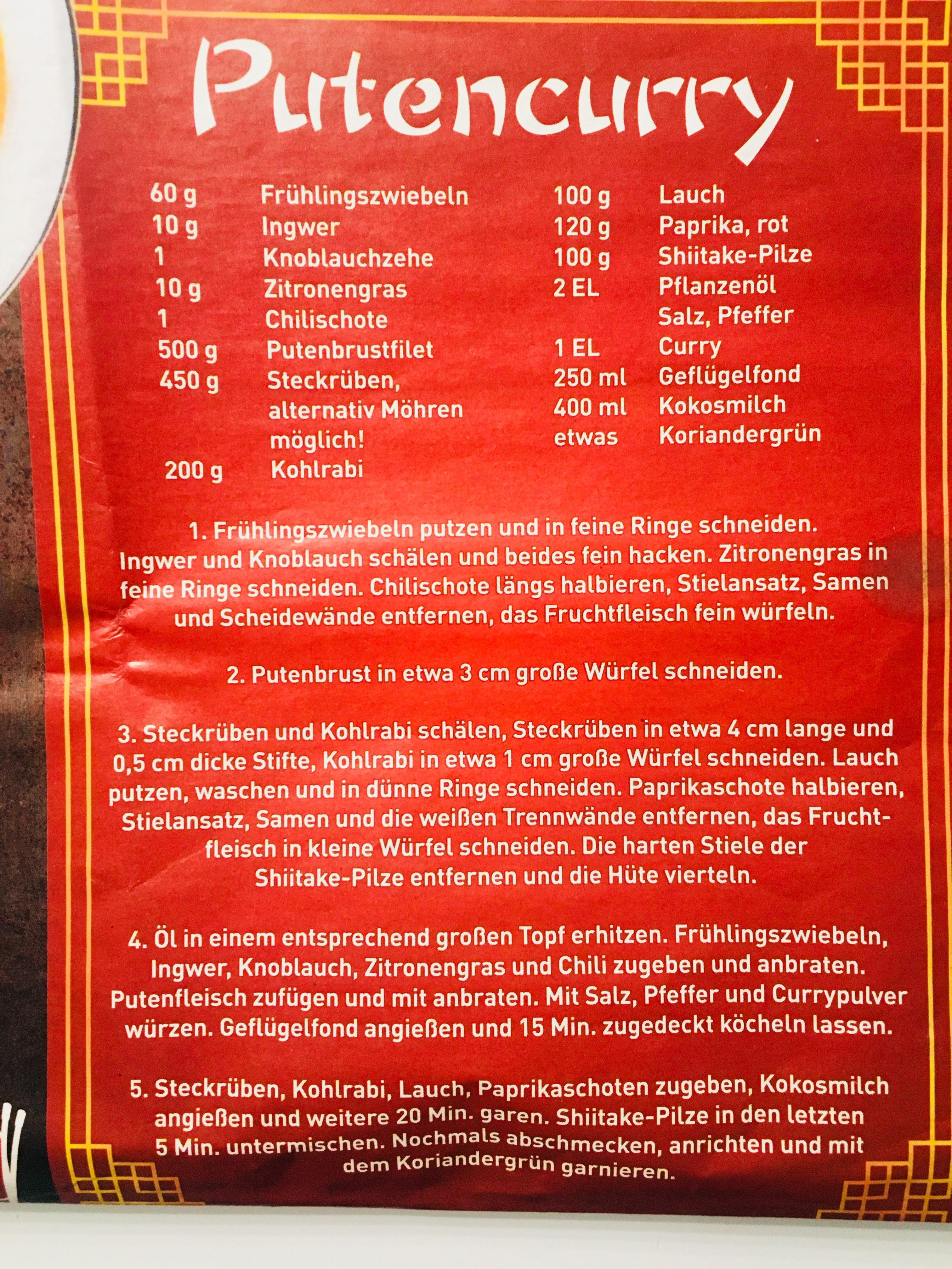 Gefunden Im Edeka Prospekt Putenbrustfilet Zitronengras Shiitake Pilze