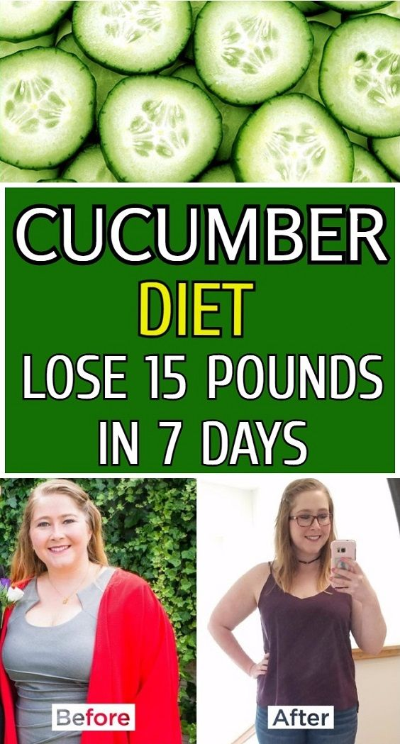 7 DAY CUCUMBER DIET HELP YOU LOSE 15 POUNDS IN A WEEK
