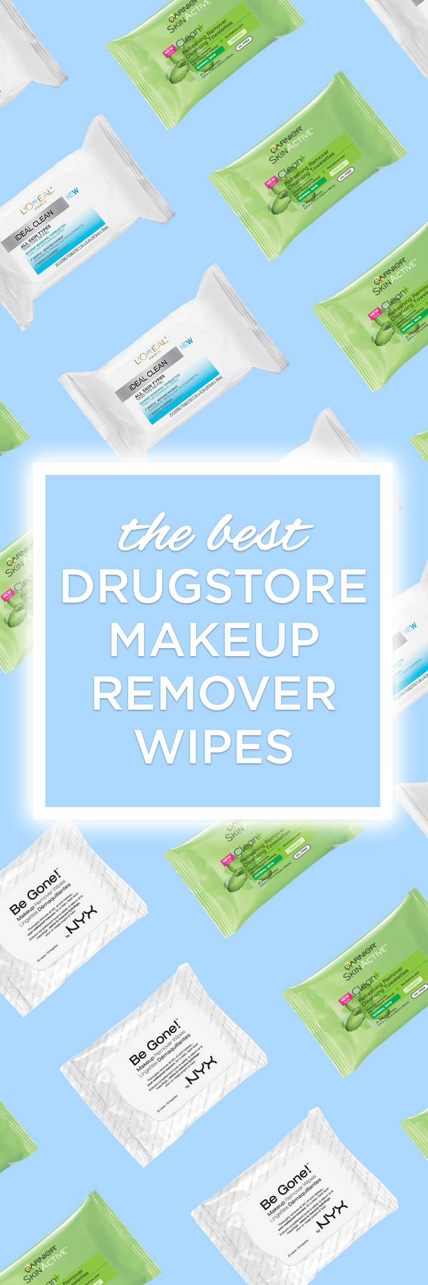Best Drugstore Waterproof Makeup Wipes Makeup remover